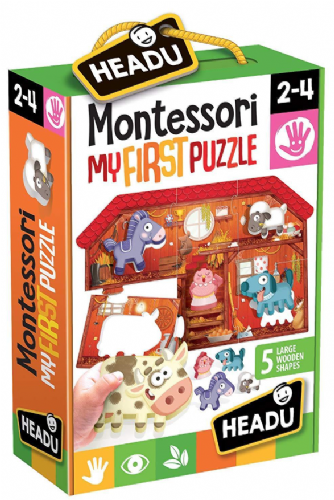 Headu Monttessori My First Farm Educational Puzzle Kids Children 2-4